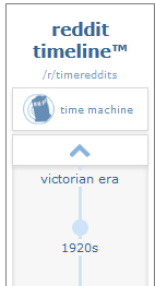 Reddit Timetravel